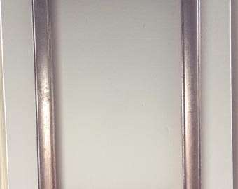 Gilded Wooden Picture Frame No Glass / Silver Gold Frame