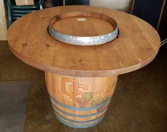 Bon Wine Barrel Table Top