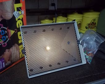 1994 Lite Brite by Milton Bradley - works! Complete in Box with Disney guide sheets