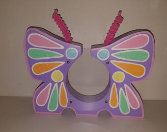 Personalized Butterfly Bank. Available for immediate delivery.