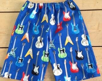 guitar shorts age 3