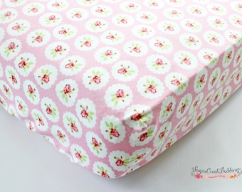 Custom Crib or Toddler Bed Sheet, Available in Any Fabric from our Shop, Made When Ordered