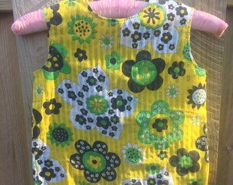 Funky Little Girls Floral Top