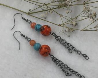 CA Dangle Earrings
