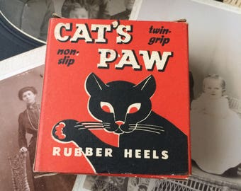 Who Cares About The Rubber Heals Inside The Graphics On This Cat's Paw Box Are Killer