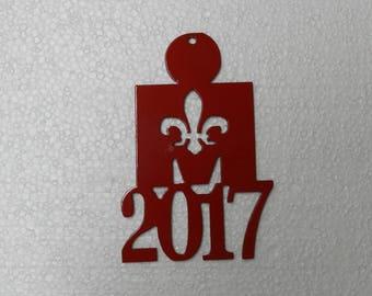 Ironman Louisville  - Metal Ornament
