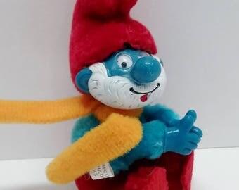 Papa Smurf Clip On
