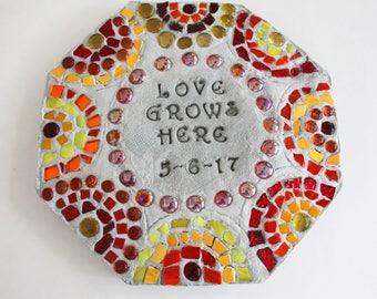 Custom Mosaic Stepping Stone