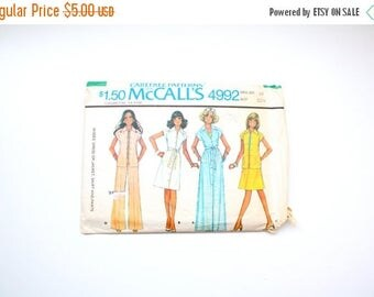 40% OFF CHRISTMAS in JULY Vintage retro sewing pattern // Boho retro // 70's jumpsuit // maxi dress // mod dress // patterns 70's 80's old s