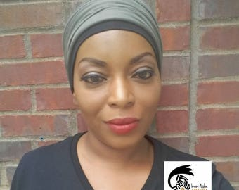Army Green Headwrap