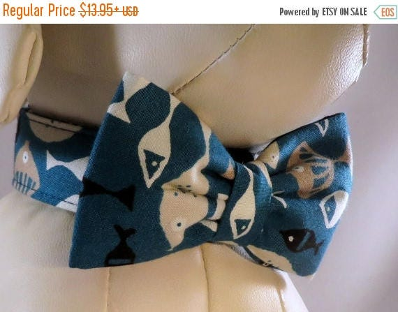 Sale 15% Off Dog Collar Set with Flower or Bow Tie - Pick Any Fabric in Shop