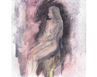 Beside Her, Always Beside Her 11x14 Signed and Numbered Art Print