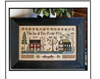 Little House Needleworks: The Inn at Fox River Mill - Cross Stitch Pattern