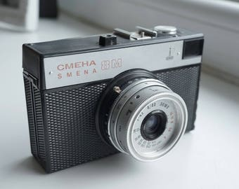vintage made in ussr SMENA 8m 35mm camera lomo lomography - works