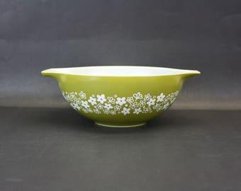 Vintage Pyrex 'Spring Blossom' 444 Cinderella Mixing Bowl (E8488)
