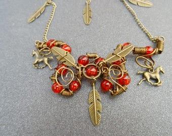 Spirit of wind necklace