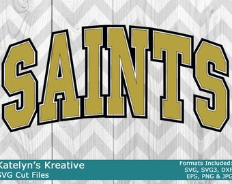 Saints Arched SVG Files