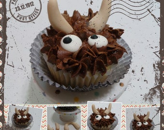 Where the wild things are!!  Cupcakes toppers made of fondant. The perfect touch for your Wild thing!!  theme party