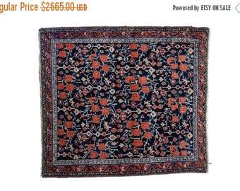 10% OFF RUGS 3.5x4 Vintage Afshar Square Rug