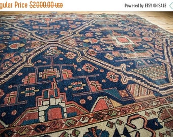 10% OFF RUGS 5x6.5 Antique Fine Malayer Rug