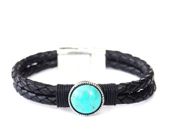 Black Braid and Turquoise