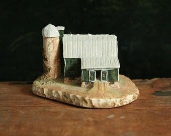 Miniature Barn by Andre Lagendyk