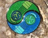 GSBG Ying Yang 2 Piece Pin Greensky Bluegrass Hat/Lapel Pin
