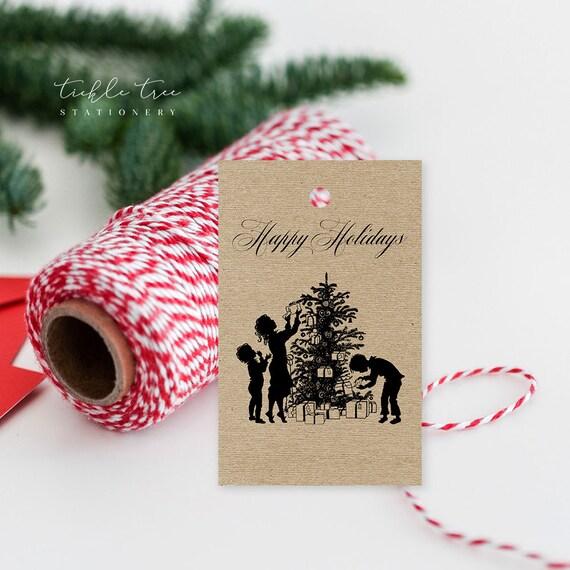 Christmas Gift Tags - Vintage Xmas