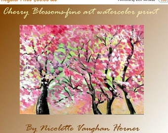 SALE Artmod...   Fine Art Print. from an original watercolor painting by Nicolette Vaughan Horner