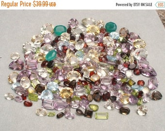 ON SALE Over 200 Carats of Loose Natural Gemstone Mix