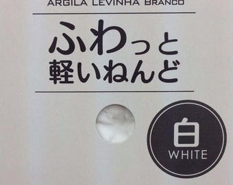2 boxes Daiso Japan 3 colors White + Green = Mint Green Color Soft Modeling Clay Made in Japan
