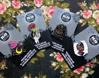 All 4 PDB First Wave Soft Enamel Pin Badges