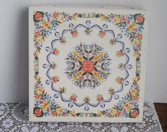 Vintage Springbok Paradise Garden Quilt 500 Piece Puzzle