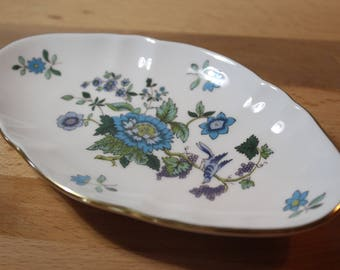 Vintage Spode England - Jewelry Dish - Soap Dish - Trinket Dish