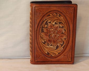 Leather Daily Planner Handcrafted