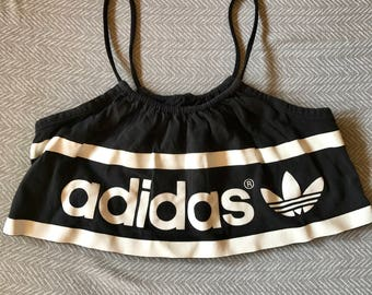 Vintage Adidas Upcycled Cut Off Crop Top