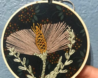 Wildflower embroidery
