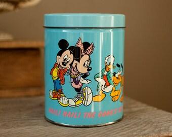 Vintage Mickey and Minnie Mouse Tin - The Walt Disney Company