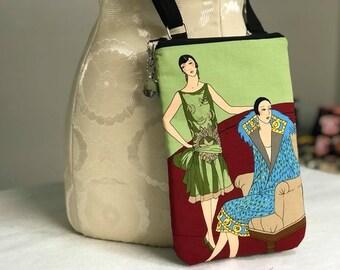 1920s Girls Crossbody Bag Purse
