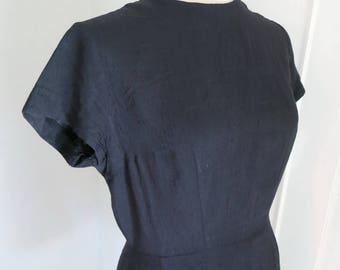 Classical Black 60s 50s dress LBD