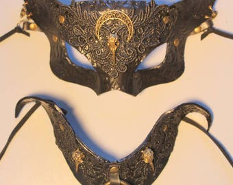 Cat Witch mask & collar