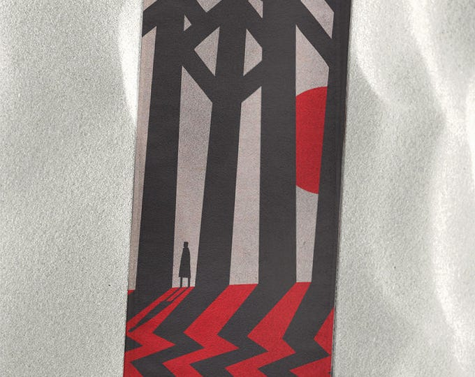 "Twin Peaks Beach Towel, Fire Walk With Me in the Black Lodge 30""x60"""
