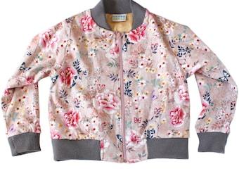 Japanese inspired bomber jacket for girls
