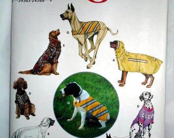 Simplicity 9520 - Large Dog covers - jackets - shirts