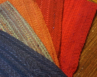 Scarves! Wrap creative with color and fashion! Handwoven, soft,easy to care for