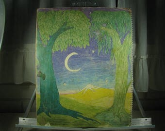 1972 RARE Alicia Bay Laurel book '' Earth Time '' A Calender of Sun & Moon Rhythms ''