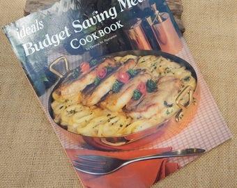 Ideals Magazine Cook Book  ~  Ideals Budget Saving Meals Cook Book  ~  Budget Saving Meals Cook Book
