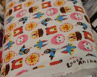 Japanese Fabric / Loose Animal / Trefel