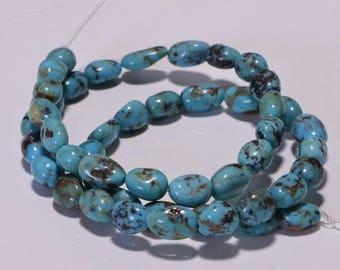 Nevada Blue Turquoise Nuggets Turquoise Beads natural Gemstone Beads Jewelry Making Supplies