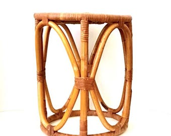 Franco Albini Style Side Table, Plant Stand or Stool